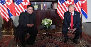 Kim Jong-un is expecting to meet US President Donald Trump