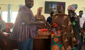 NPP MP Aspirant Habib Iddrisu empowers women with interest free loans