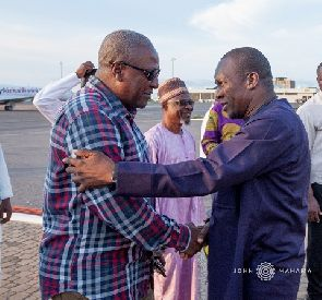 I'll work hard to make John Mahama President in 2020