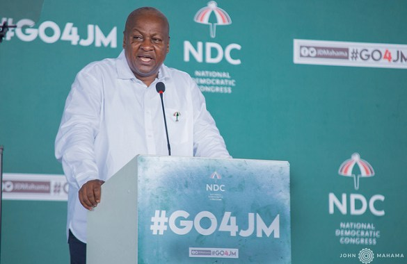 MASLOC vehicles rotting away, release them to GPRTU drivers – Mahama to gov't