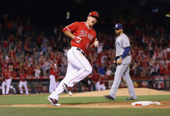 Mike+Trout+walk+off