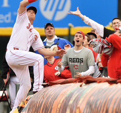 The Toddfather, Bruce, Cueto make it a Reds Opening Day to Remember