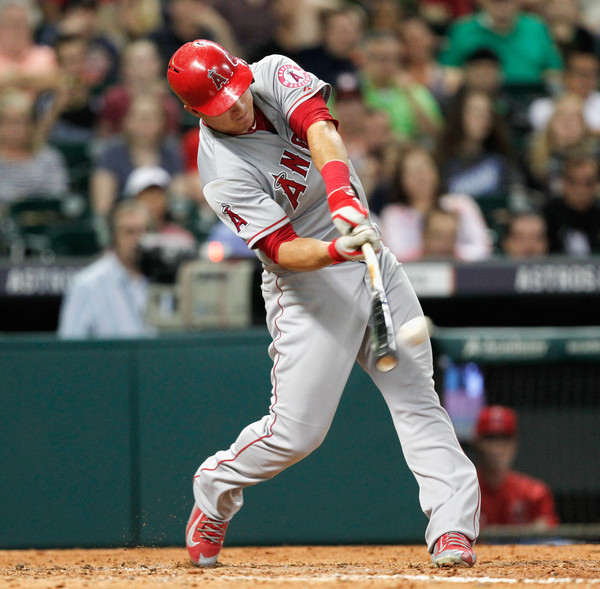 Here's Trout hitting home run #100. Spoiler: he hit #101 a few innings later.
