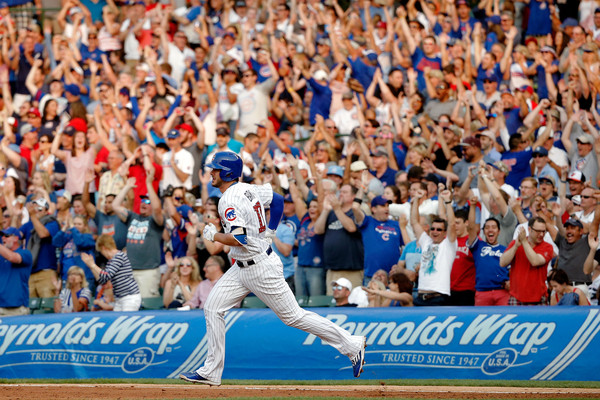 Kris Bryant hit two Independence Day home runs, including a grand slam.