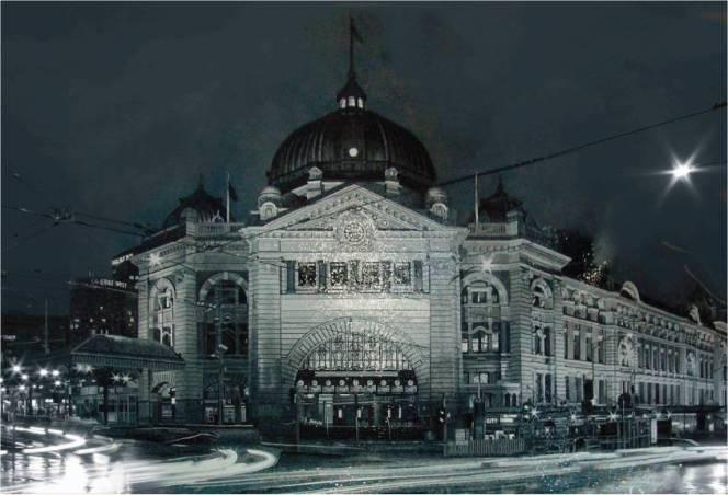 Bespoke_Flinders Street Station