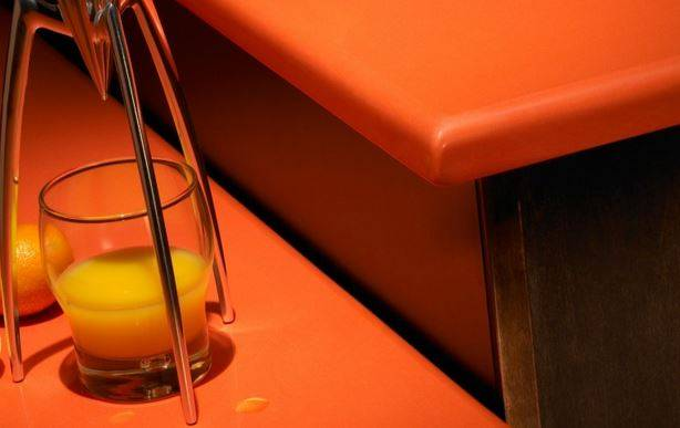Silestone in Naranja Cool, Life! Series Source: http://www.silestoneoceania.com