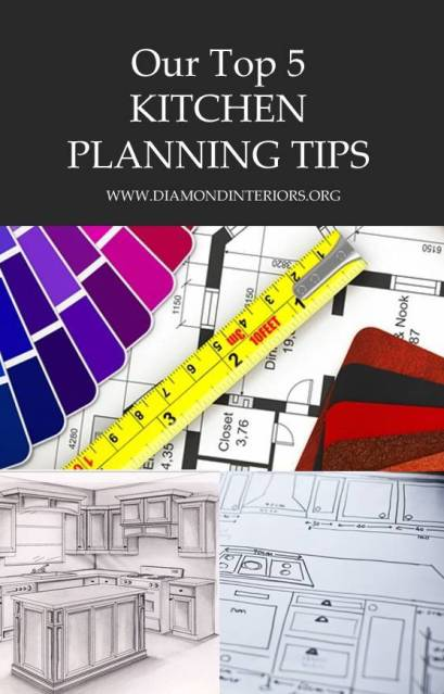 Our Top 5 Kitchen Planning Tips by Diamond Interiors