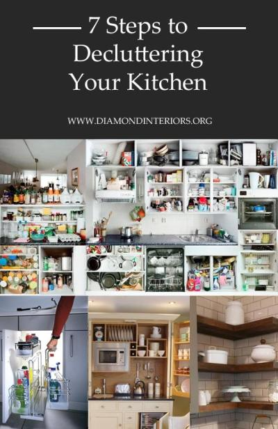 7 Steps to Decluttering Your Kitchen by Diamond Interiors