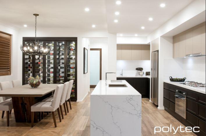 polytec vinyl wrap kitchen 1