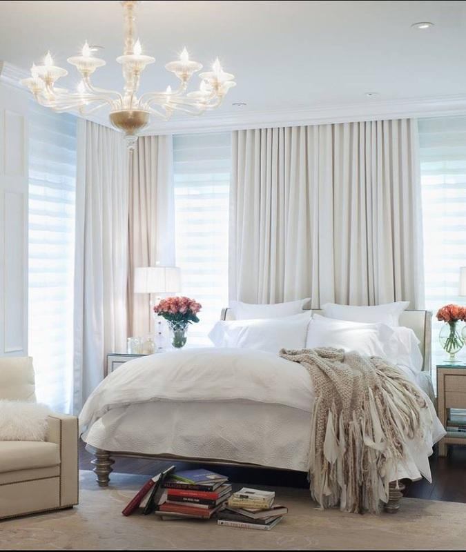 Energy Saving Ideas: Block-Out Curtains Bedroom
