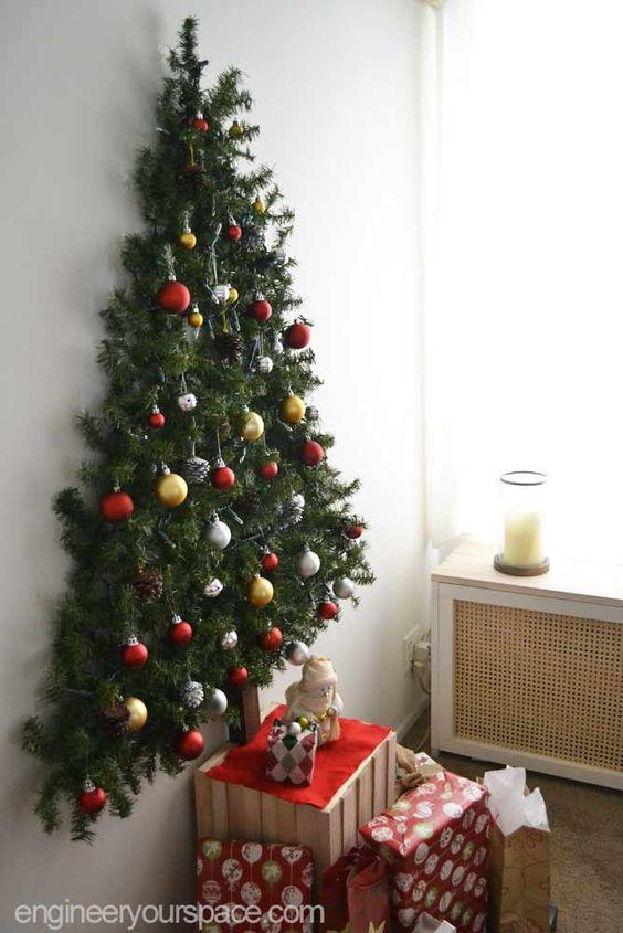 Top 6 Alternative Christmas Tree Ideas - Wall Tree