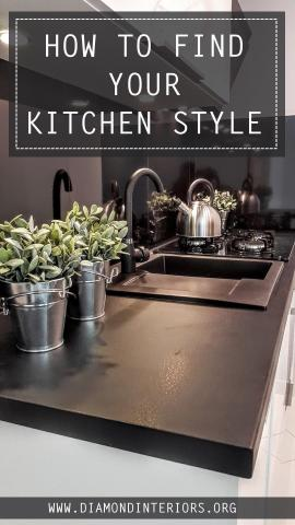 how to find your kitchen style