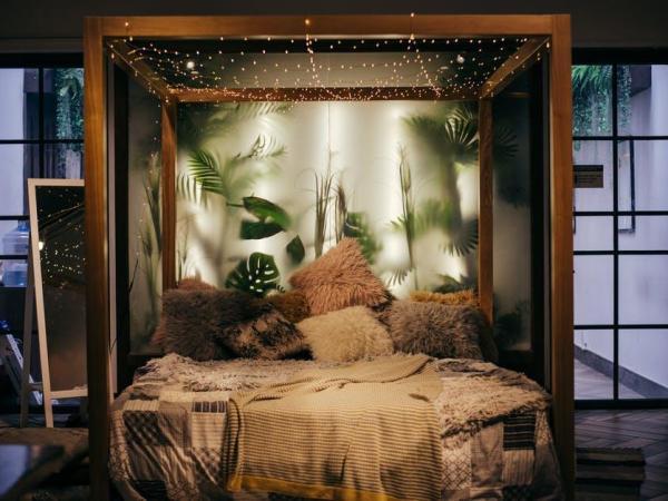 boho chic interior design - bedroom design ideas
