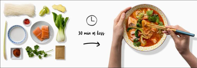 Meal planner: Marley Spoon
