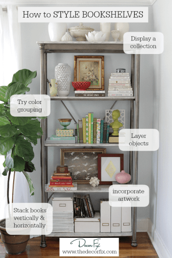 How-to-style-bookshelves