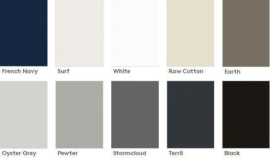 laminex absolute matte colours