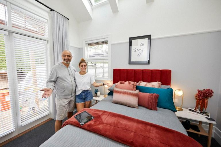 Harry and Tash The Block 2020 Guest Bedroom Reveal