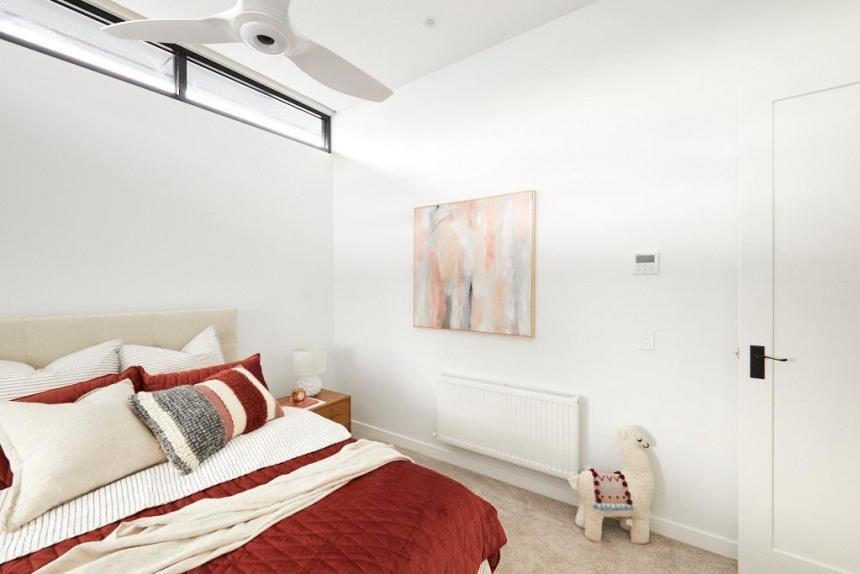Daniel & Jade The Block 2020 - Bedroom Decorating