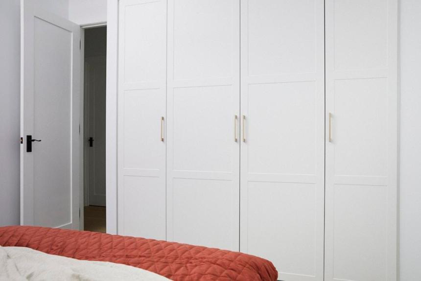 Daniel & Jade The Block 2020 - Bedroom Wardrobe