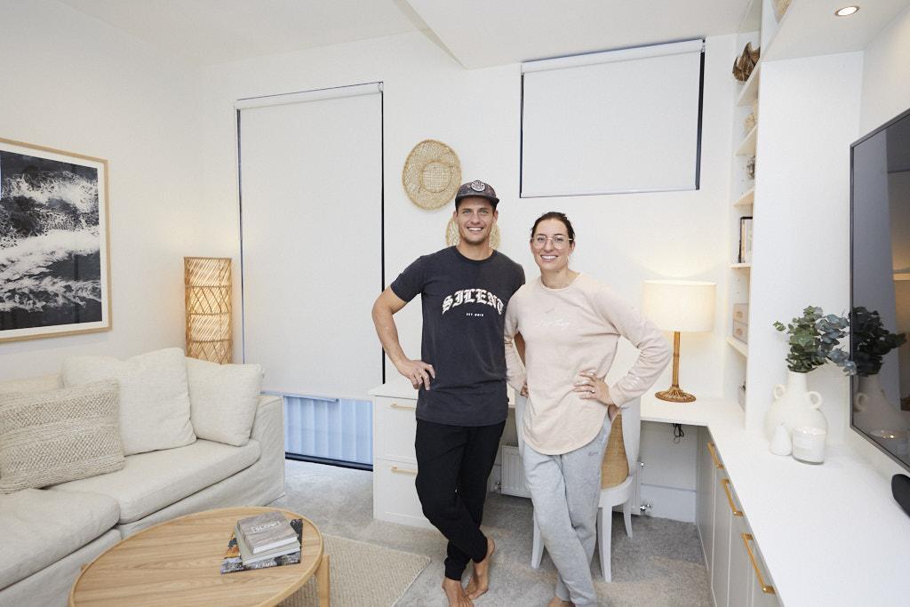 Luke & Jasmin The Block 2020 - Guest Bedroom