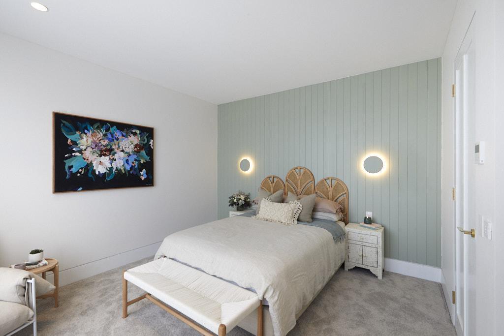 Luke & Jasmin The Block 2020 - Bedroom Design
