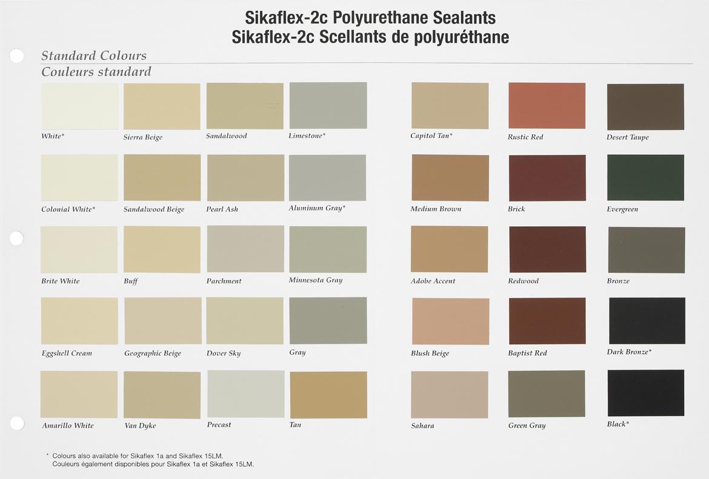 Sonneborn Np1 Sealant Colors