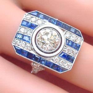 Vintage Art Deco Rings
