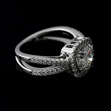 Fancy Cushion Cut Diamond Engagement Anniversary 925 Sterling Silver