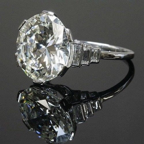 1.75Ct Round Moissanite Solitaire Engagement Ring 925 Sterling Silver
