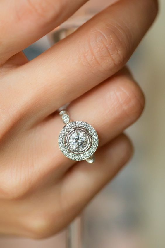 Simple Bezel Round Cut Diamond Engagement Ring 925 Sterling Silver 1.55CT