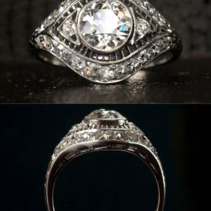 2.00Ct Round Cut Moissanite Bezel Set Engagement Ring Solid 14k White Gold