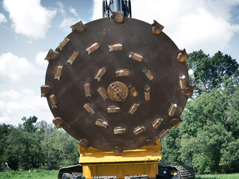 Forestry Disc Carousel