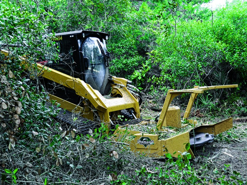 Skid Steer Forestry Disc