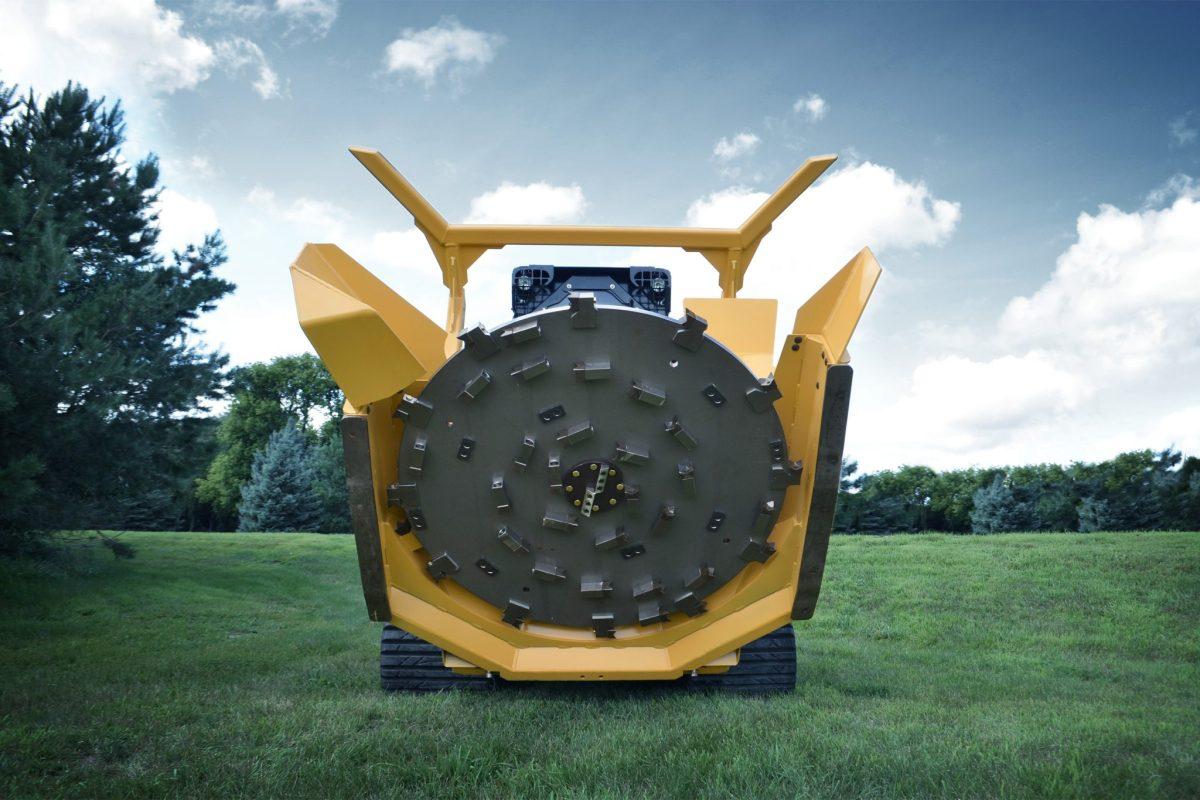 Skid-Steer Forestry Disc Mulcher – Diamond Mowers®