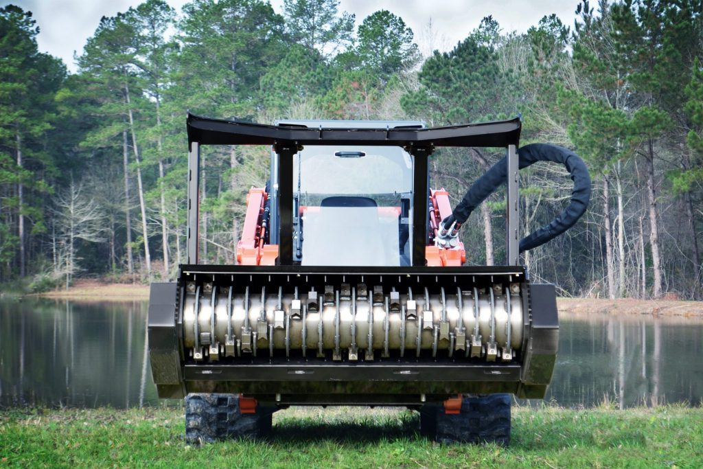 Skid-Steer Drum Attachment