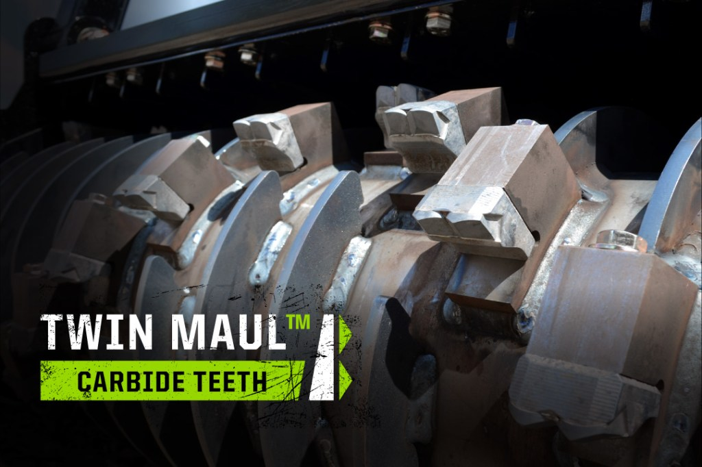 Twin Maul Carbide Teeth