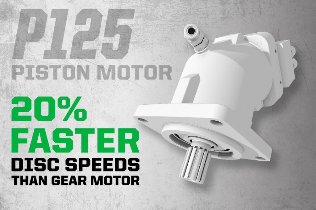 P125 Piston Motor