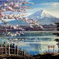 Mount Fuji Diamond Painting Kit