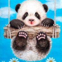Baby Panda Diamond Painting Kit