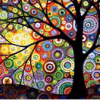 Art Tree Diamond Painting Kit