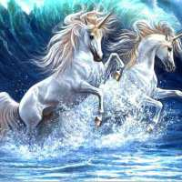 Unicorn Waves Diamond Painting Kit