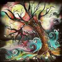 Night Tree Diamond Painting Kit
