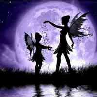 Fairy Sisters Moonlight Diamond Painting Kit