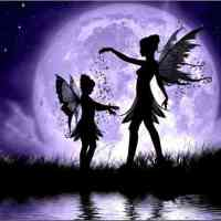 Fairy Sisters Moonlight Diamond Painting Kit