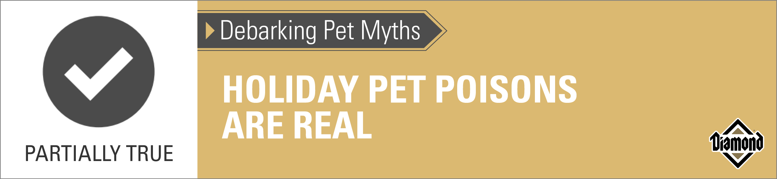 True: Pet Holiday Poisons Are Real | Diamond Pet Foods