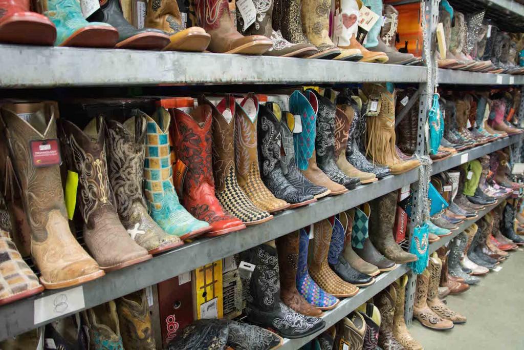 cowboy boot vendor