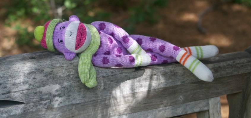 The beginning of the adventures of sock monkey, Dottie