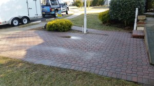 Paver Cleaning soft washing Moorestown NJ