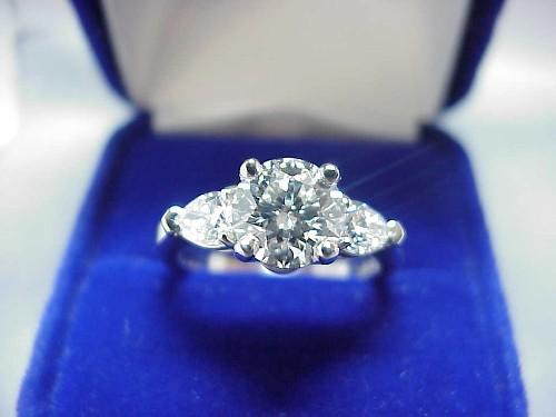 Round Diamond Rings Round Brilliant Cut Diamond Ring 1