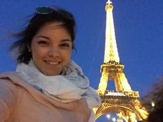Selfie from La Seine (could not resist)!